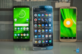 Left to right - G6 Plus, Moto G6, G6 Play - Motorola Moto G6, G6 Plus and G6 Play Review