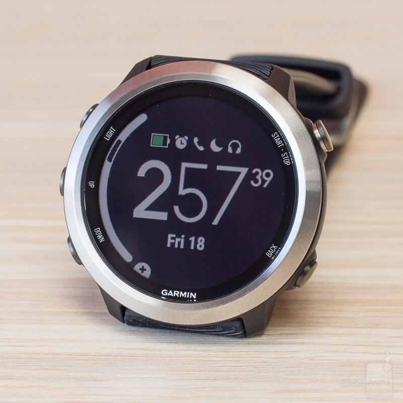 Some of the watch faces you can set - Garmin Forerunner 645 Music Review