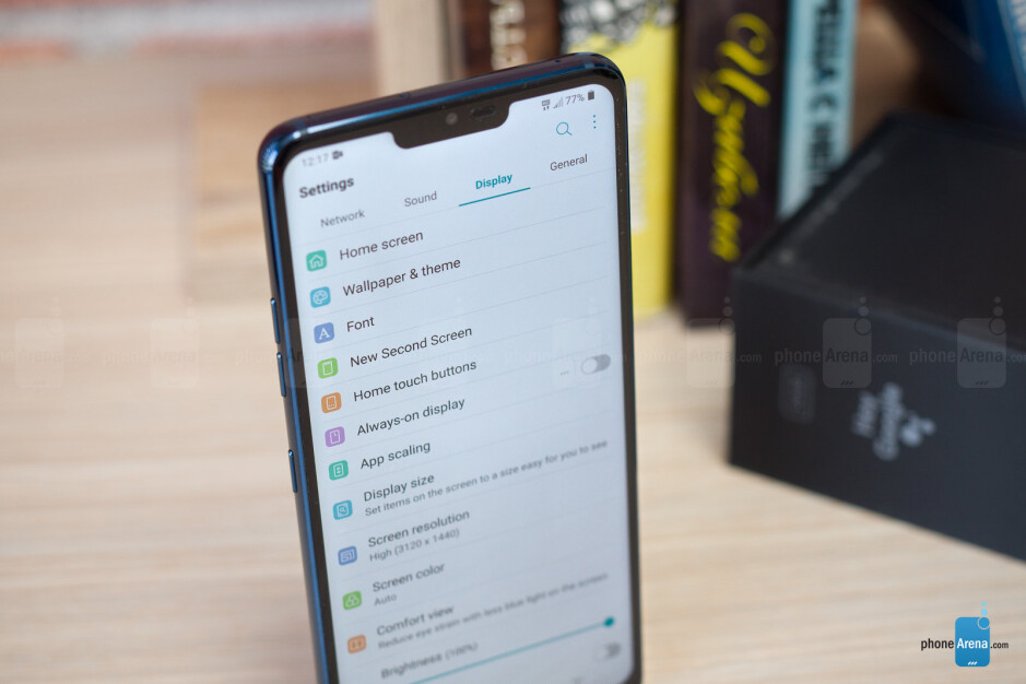 The notch on the LG G7 doesn't get in the way - LG G7 ThinQ Review