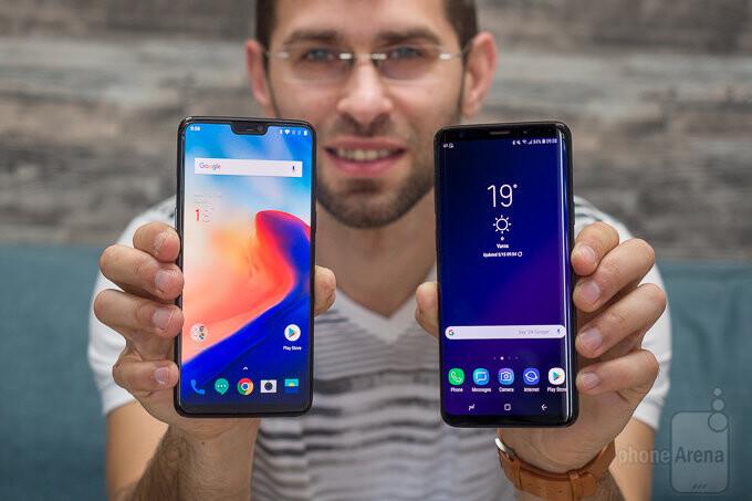 OnePlus 6 vs Samsung Galaxy S9+