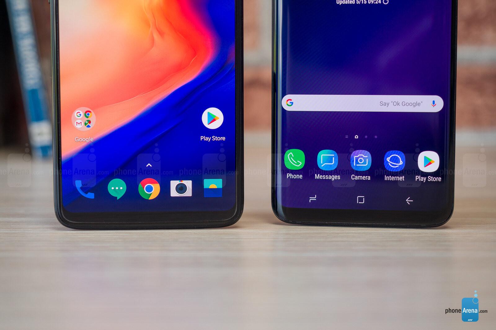 OnePlus 6 vs Samsung Galaxy S9+ - PhoneArena