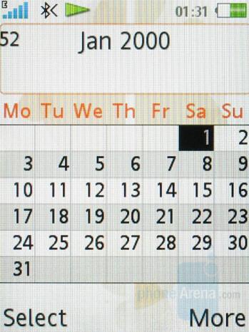 Calendar - Sony Ericsson W580 Review