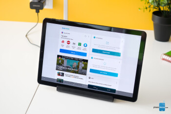 The Charging Dock Pogo - Samsung Galaxy Tab S4 Review