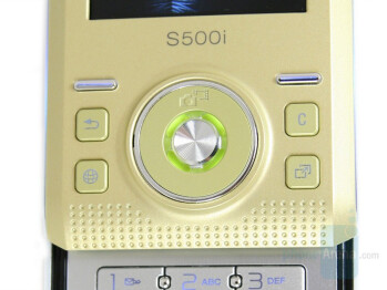 Navigation keys - Sony Ericsson S500 Review
