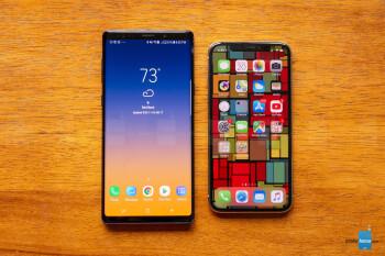 Samsung Galaxy Note 9 vs Apple iPhone X