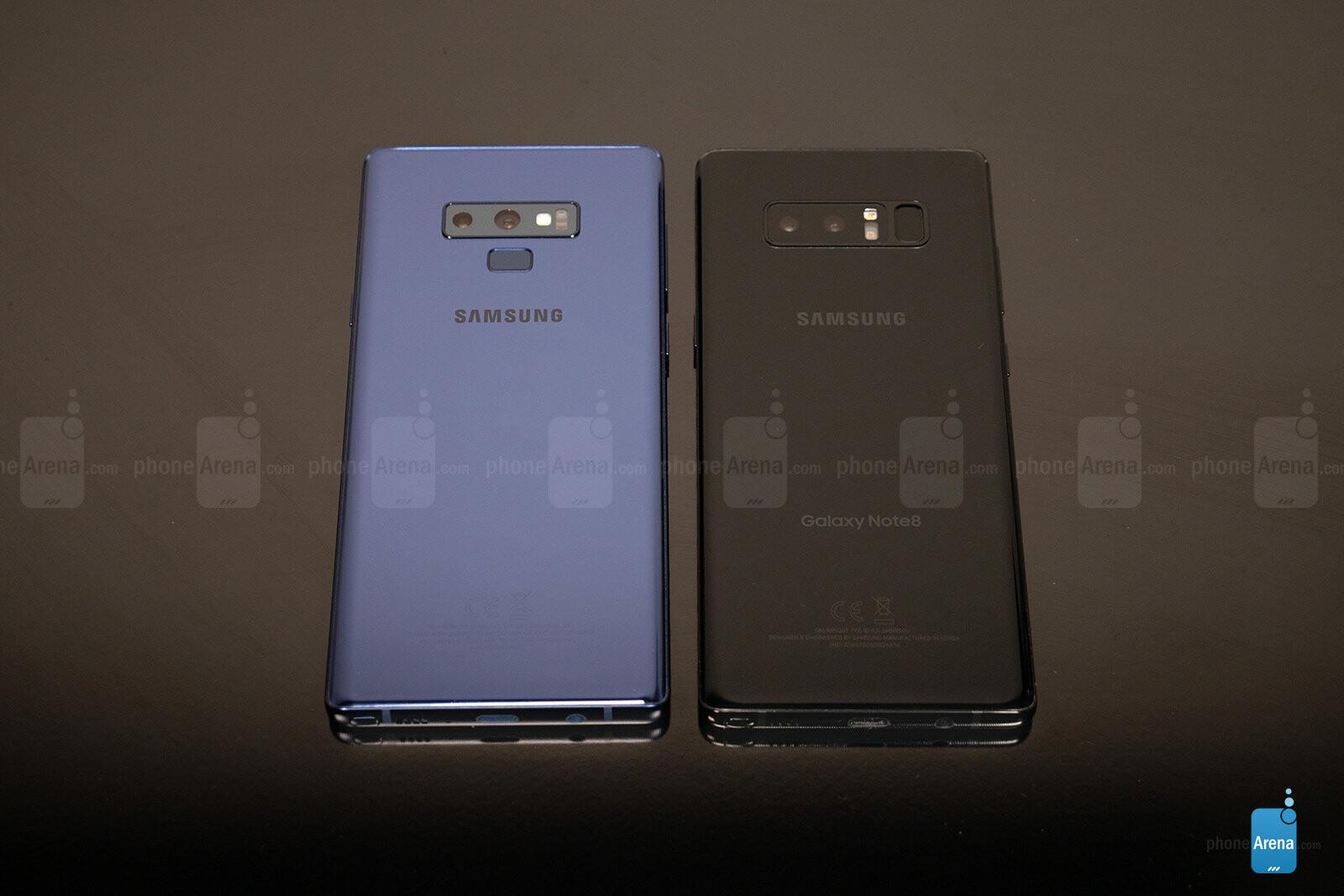 Samsung Galaxy Note 9 vs Galaxy Note 8 - PhoneArena