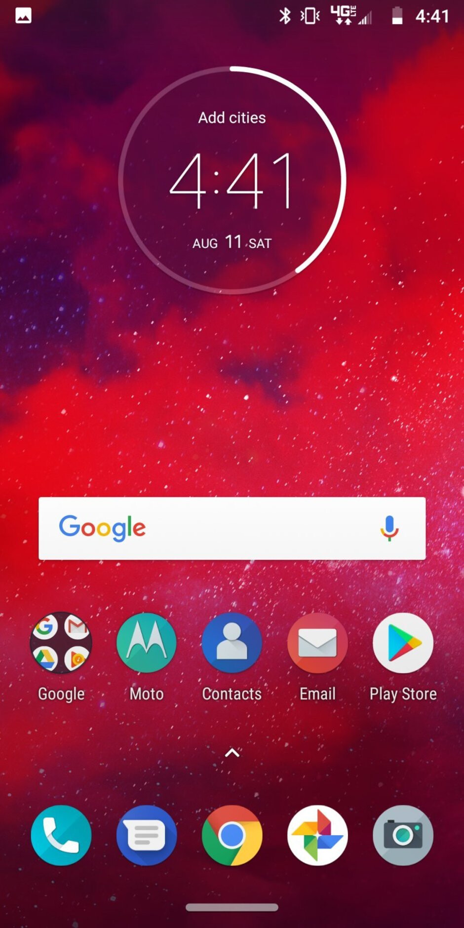 We have Android 8.1 Oreo on the Moto Z3, with some proprietary Moto features in