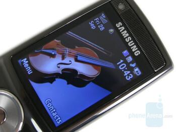 "2.2"" QVGA Display - Samsung SGH-G600 Review"