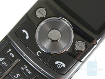 Navigation keys - Samsung SGH-G600 Review