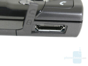 Charger/Accessory port - Samsung SGH-G600 Review