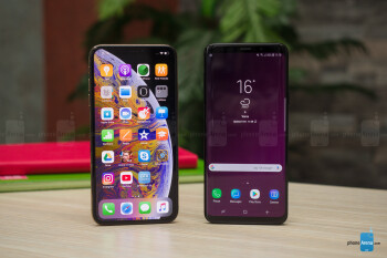 compare iphone xsmax vs samsung galaxy s8