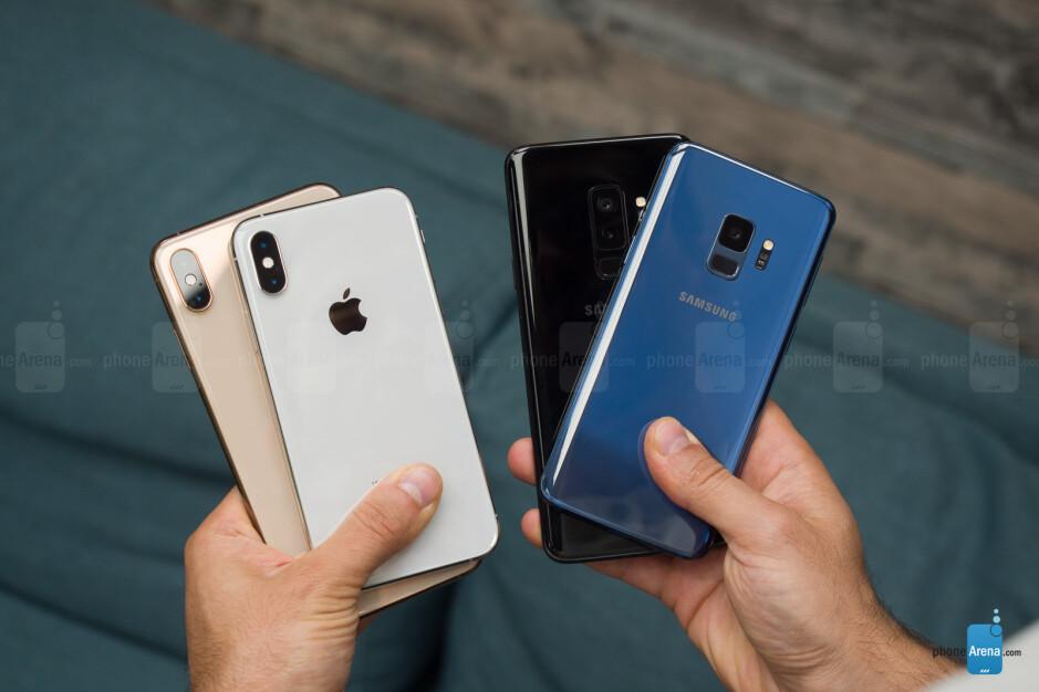 Apple iPhone XS / Max vs Samsung Galaxy S9 / S9+