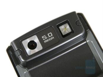 5 Megapixel camera - Samsung SGH-G600 Review