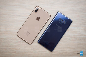 iPhone XS Max vs Samsung Galaxy Note 9 - PhoneArena