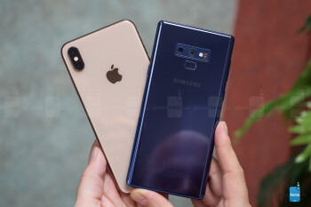 iPhone XS Max vs Samsung Galaxy Note 9