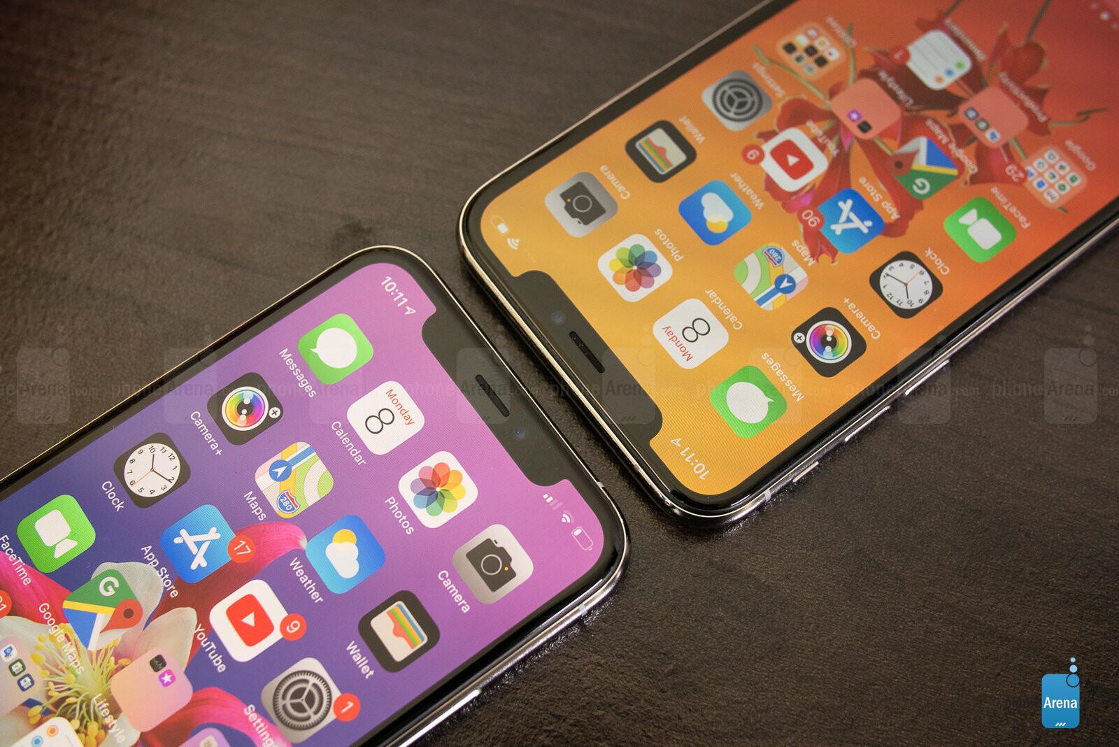 apple iphone x vs xs