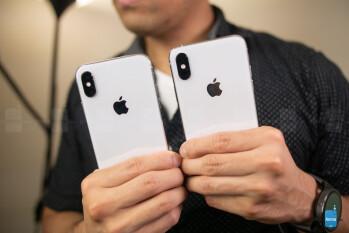 Apple iPhone XS vs Apple iPhone X