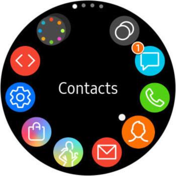App drawer - Samsung Galaxy Watch Review