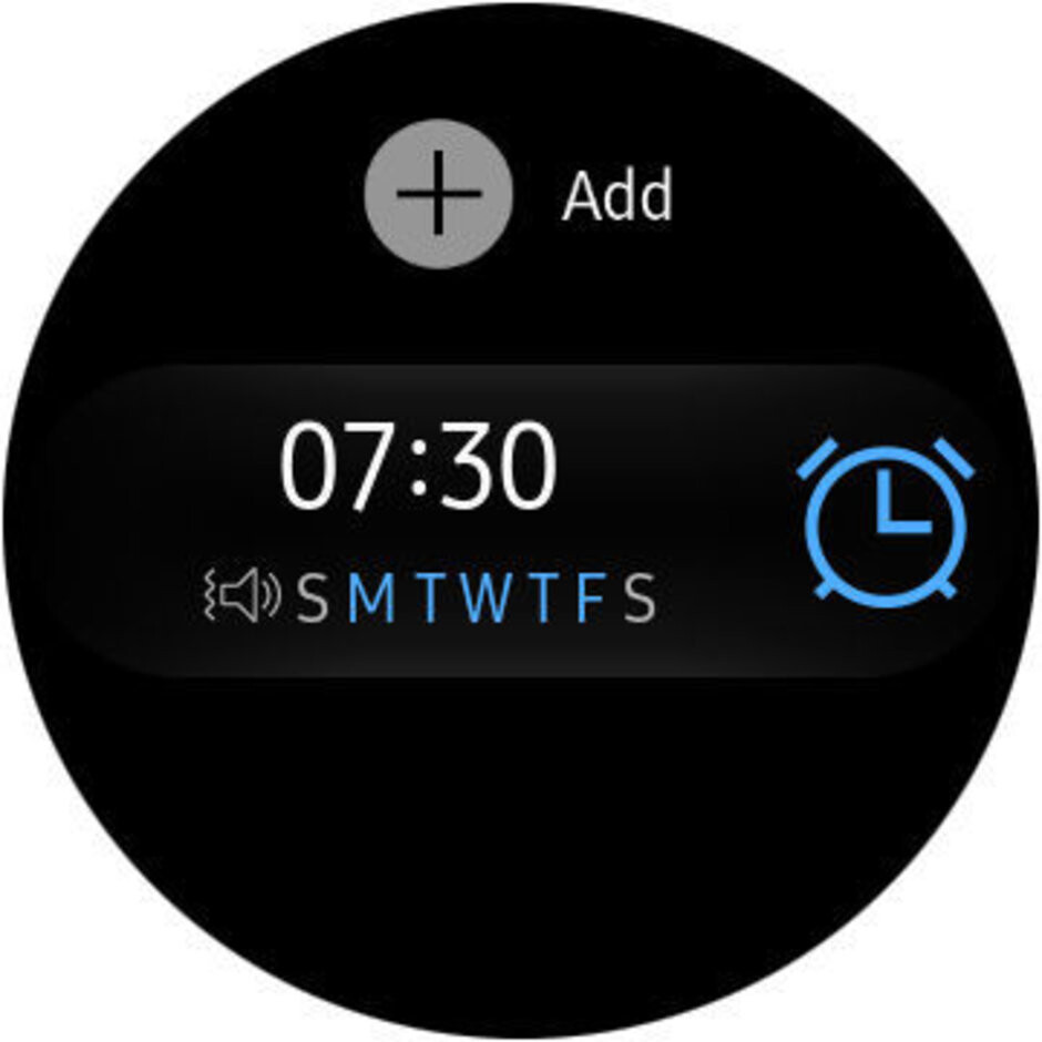Alarm clock - Samsung Galaxy Watch Review