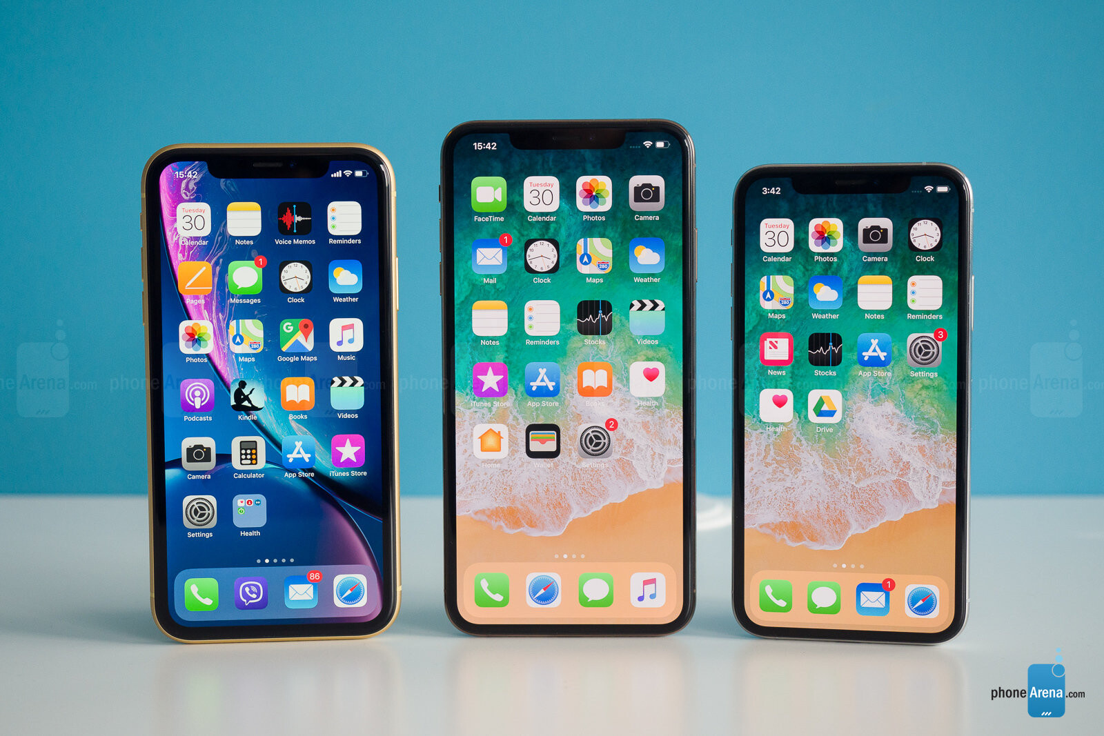 new styles 12020 2ac0e iPhone XR, iPhone XS Max, iPhone XS - Apple iPhone XR Review