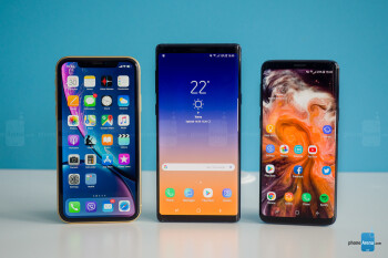 iPhone XR, Galaxy Note 9, Galaxy S9 - Apple iPhone XR Review