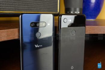 Google Pixel 3 XL vs LG V40 ThinQ
