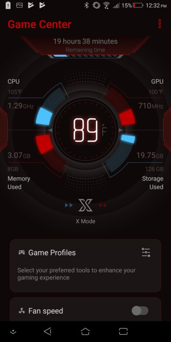 Game Center - Asus ROG phone Review