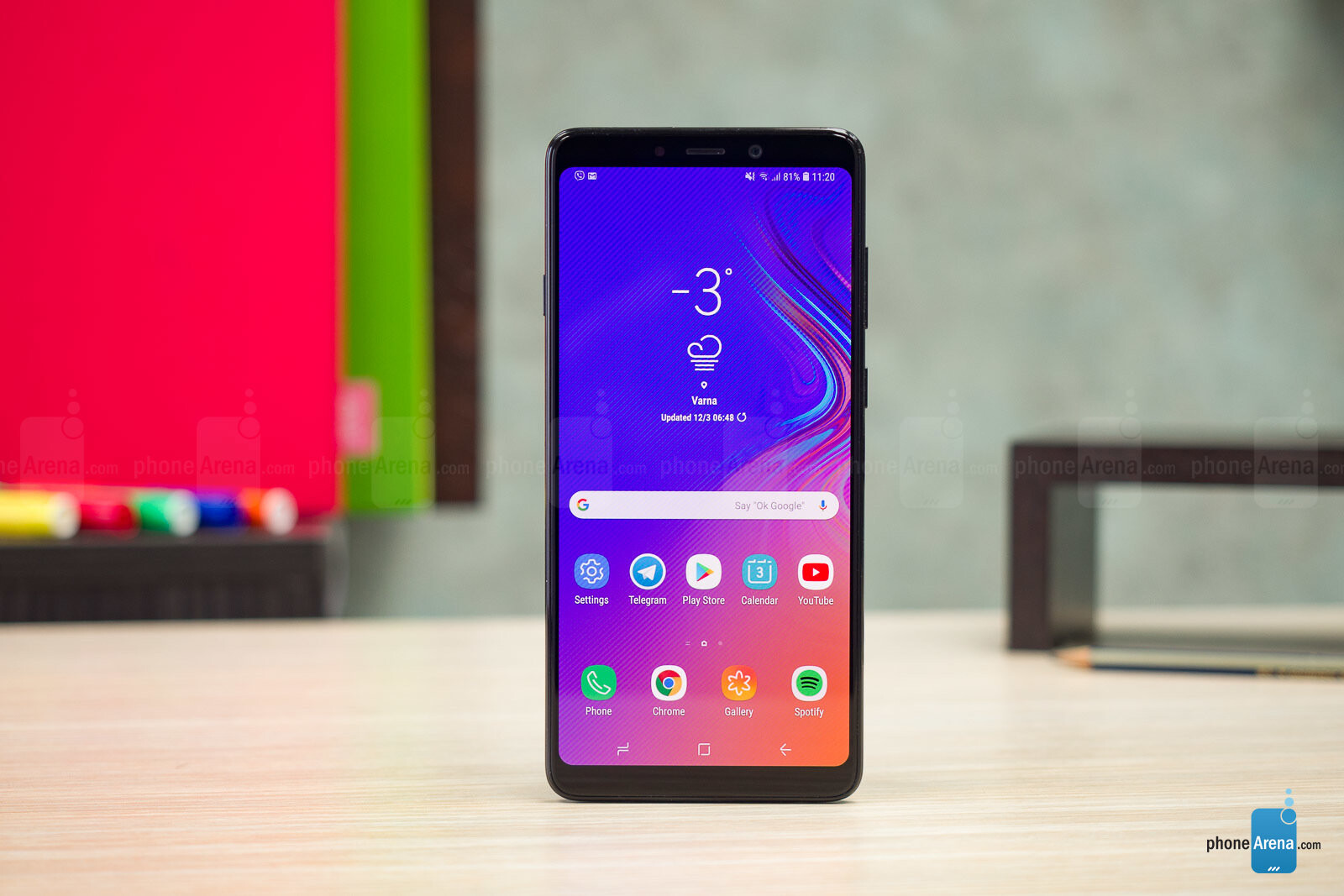 samsung galaxy a9 2018 review phonearena. Black Bedroom Furniture Sets. Home Design Ideas
