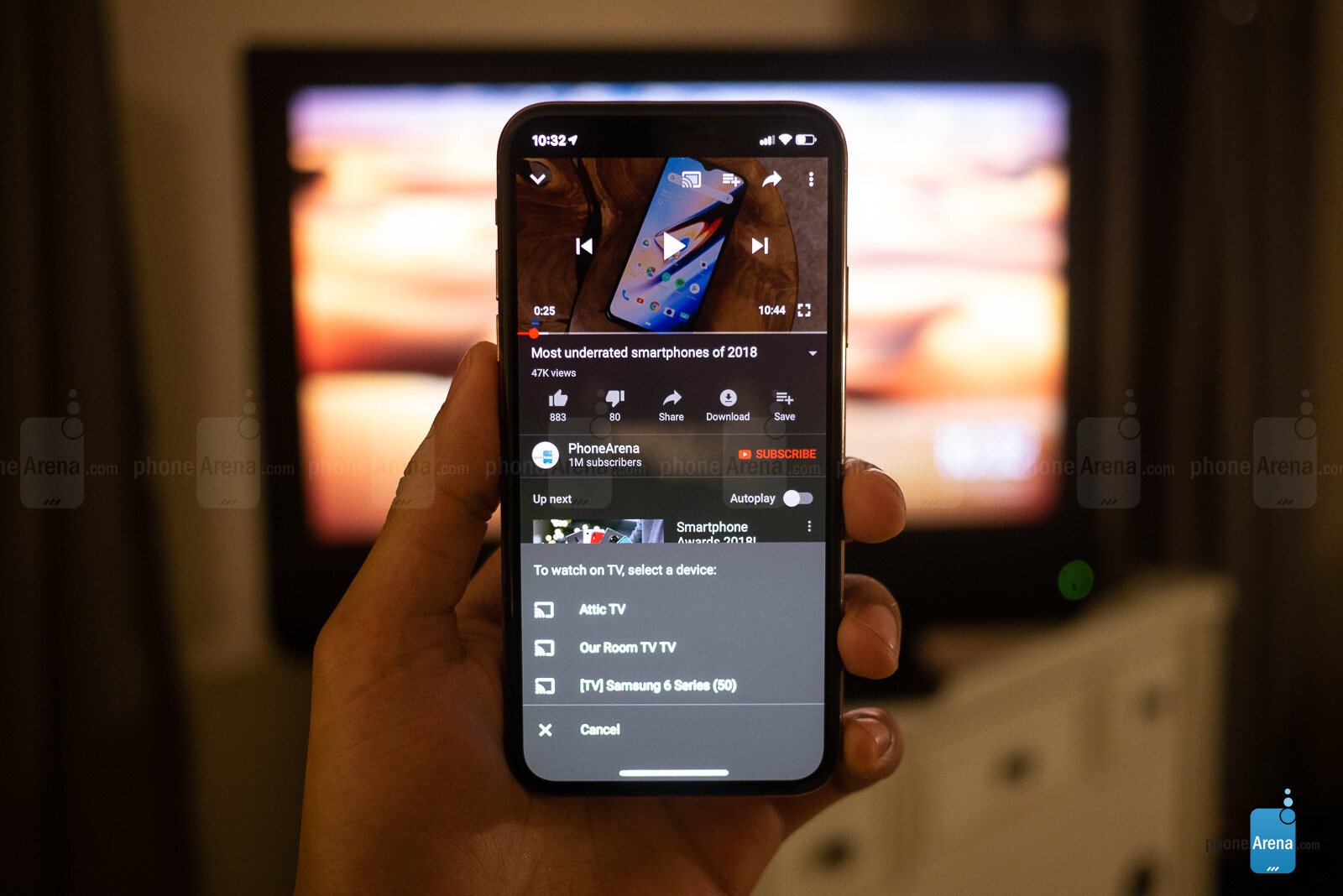 how to turn off tv with voice chromecast