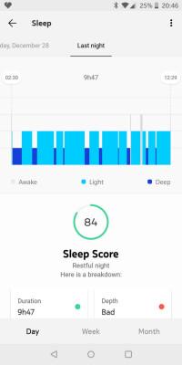 The Health Mate companion app