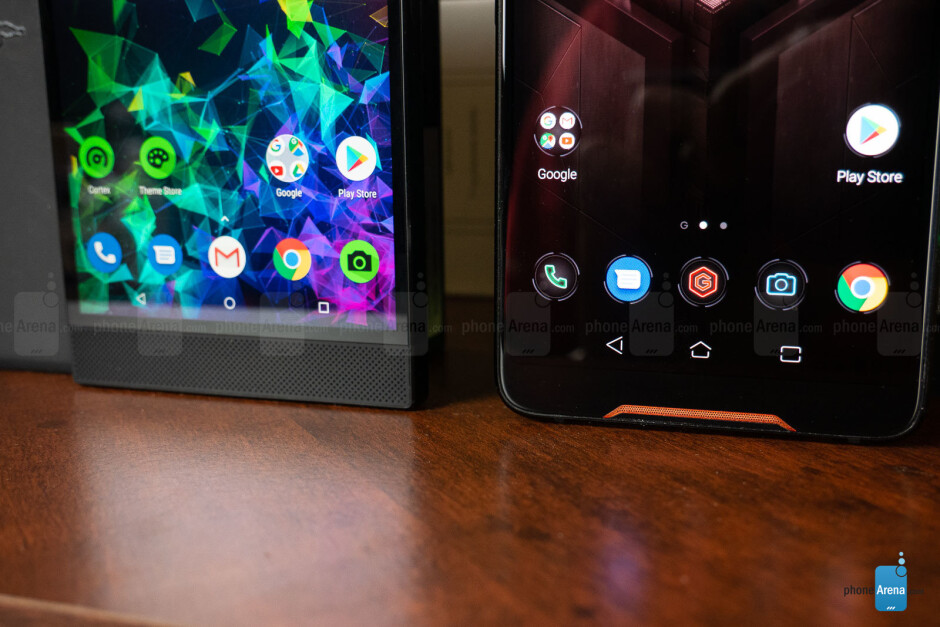 Both phones have dual front speakers - Razer Phone 2 vs Asus ROG Phone