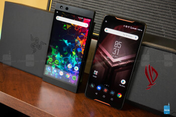 Razer <a href='http://www.showsiteinfo.info/sites/100bestandroidapps.com'>_phone_</a> 2 vs Asus ROG Phone