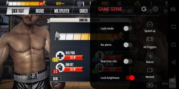 The ROG phone has a gaming dashboard dubbed Game Genie - Razer phone 2 vs Asus ROG Phone