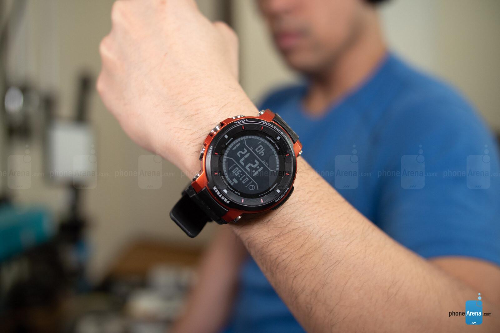 Casio Pro Trek Smart Wsd F30 Review Phonearena
