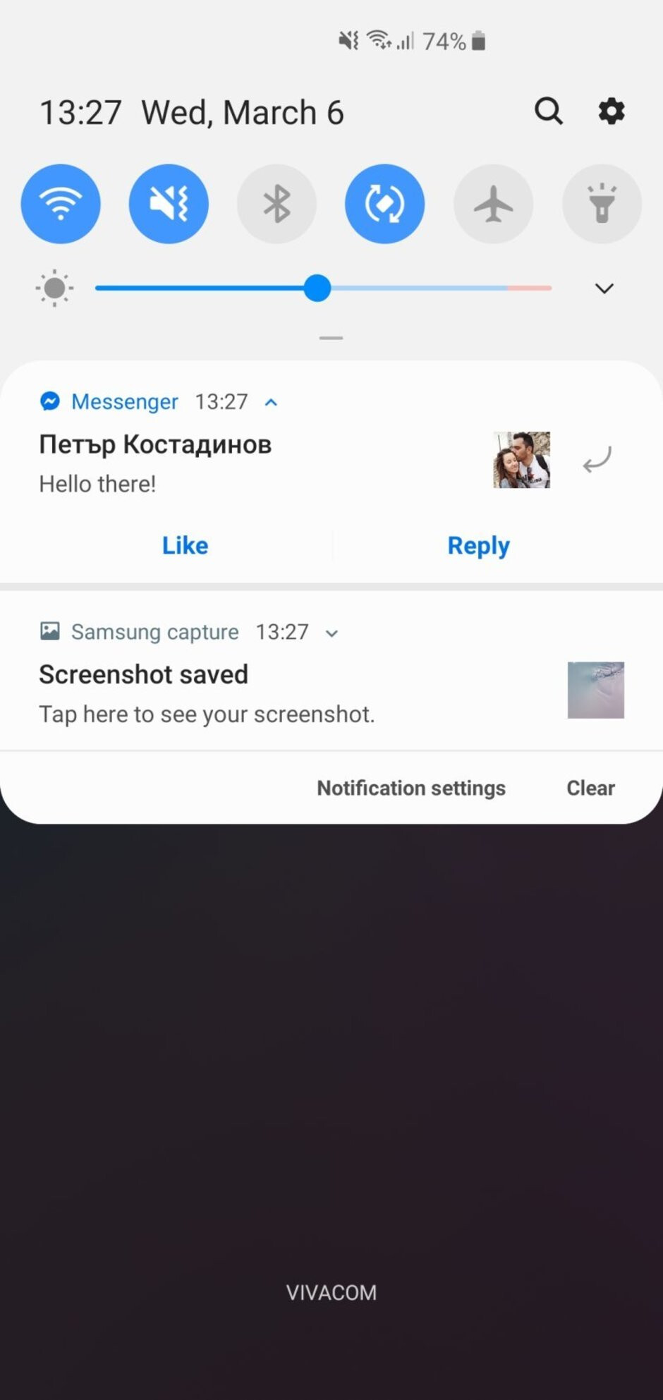 Interface of the Samsung Galaxy S10 - Samsung Galaxy S10 vs Google Pixel 3