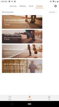 The Huawei Health Companion App