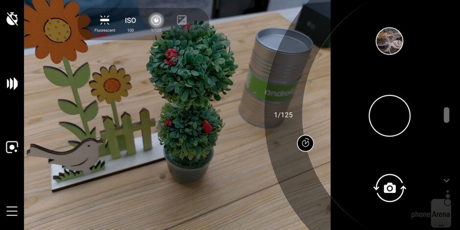 Camera interface - Nokia 9 PureView Review