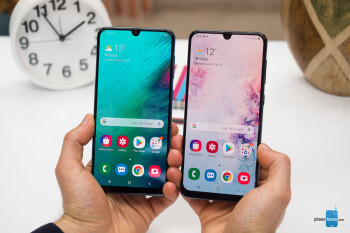 Samsung Galaxy A50 and Galaxy A30 Review PhoneArena