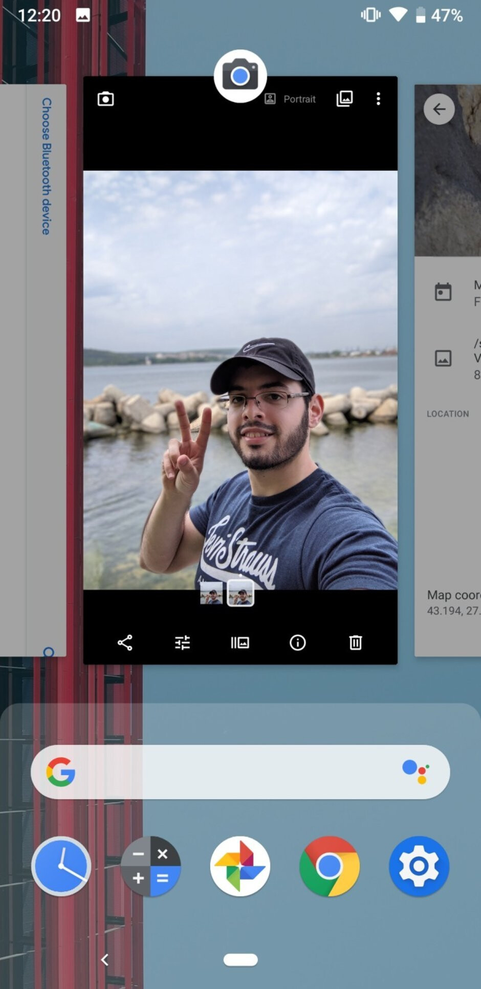 Android 9 Pie running on Pixel 3a - Google Pixel 3a & 3a XL Review