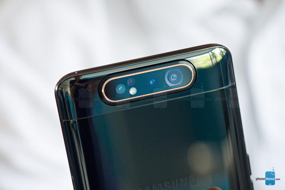 Samsung Galaxy A80 review: brilliant idea, average results