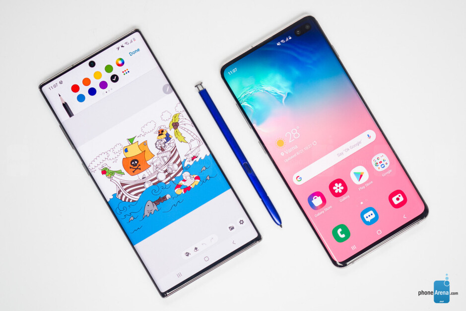 Samsung Galaxy Note 10+ vs Galaxy S10+