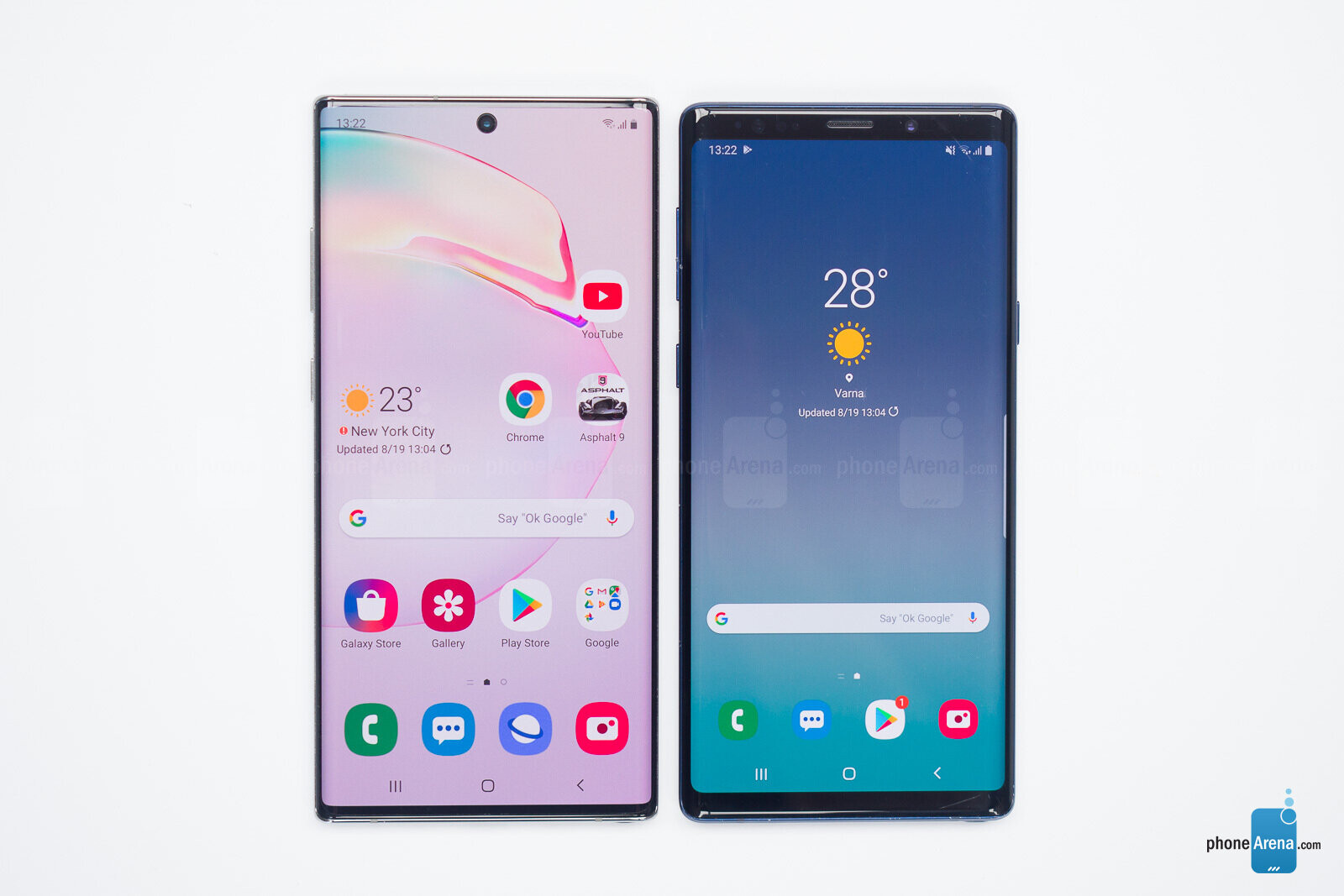 Samsung Galaxy Note 10+ vs Galaxy Note 9 - PhoneArena