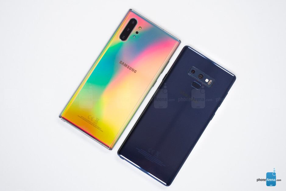 Samsung Galaxy Note 10+ vs Galaxy Note 9
