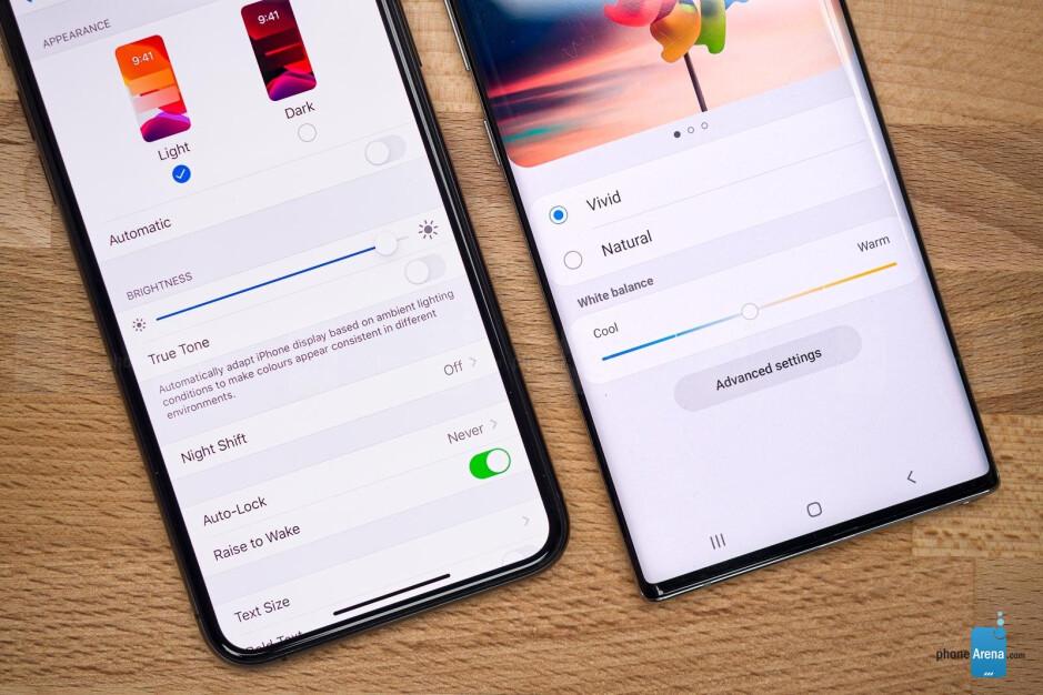 iPhone 11 Pro Max vs Galaxy Note 10+