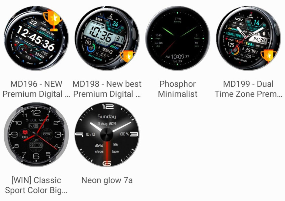 Third-party watchfaces are available in the Galaxy Wear app - Samsung Galaxy Watch Active 2 Review