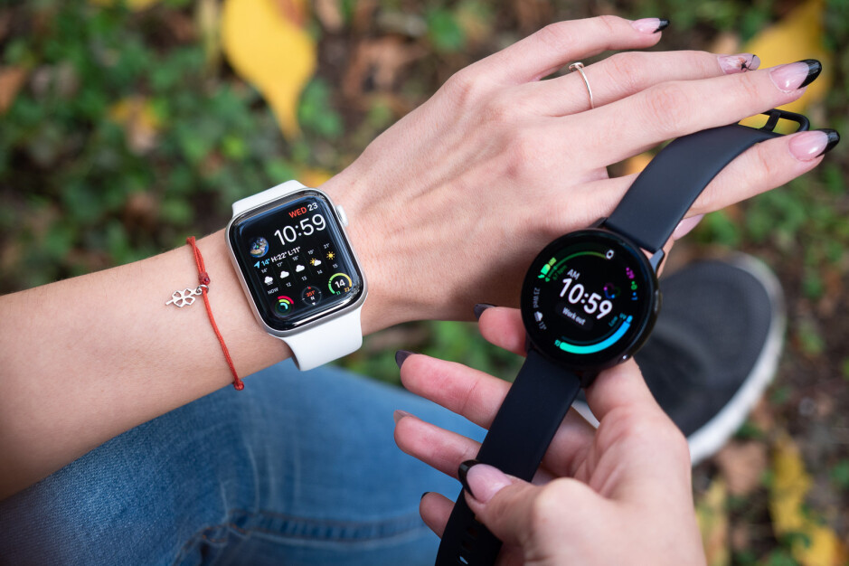 Apple Watch Series 5 Vs Samsung Galaxy Watch Active 2 Phonearena