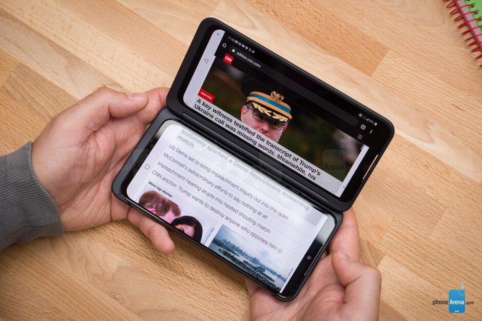 LG G8X and Dual Screen Review