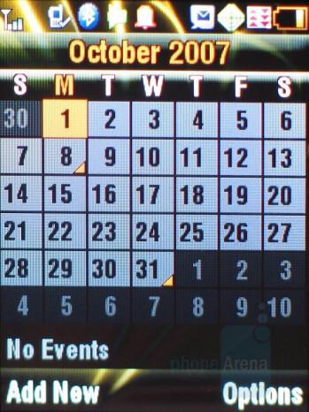 Calendar - Motorola ic902 Deluxe Review