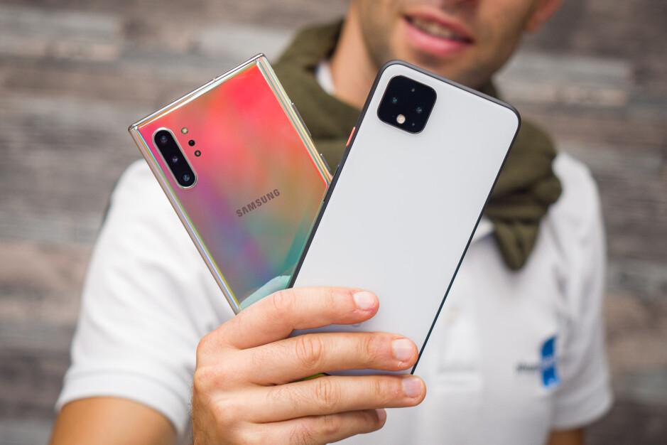 Google Pixel 4 XL vs Samsung Galaxy Note 10+