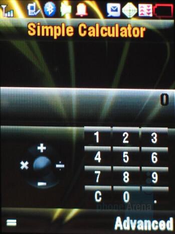 Calculator - Motorola ic902 Deluxe Review